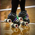 roller derby iPhone cover 2 by Lisa Kenny