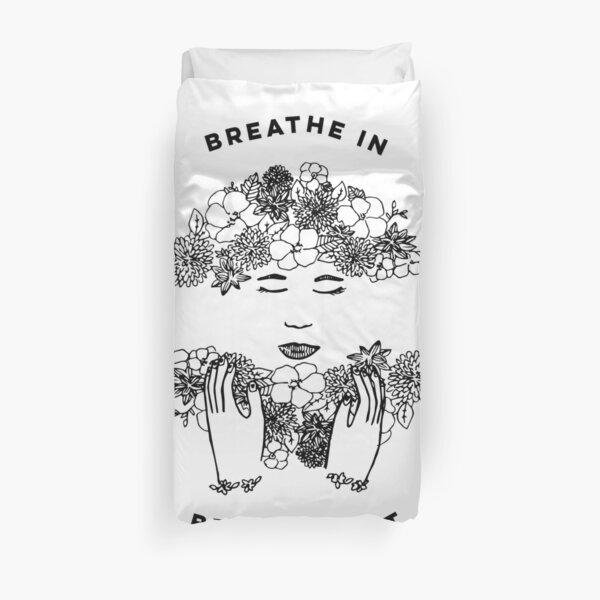 Floral Meditation Duvet Cover