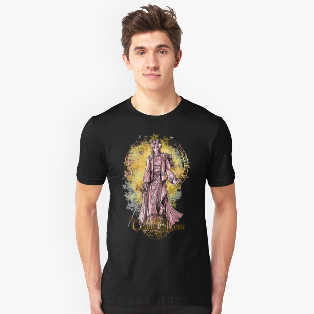 Anis with sword Unisex T-Shirt Front