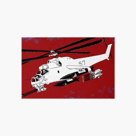 Talon Gunship Art Board Print