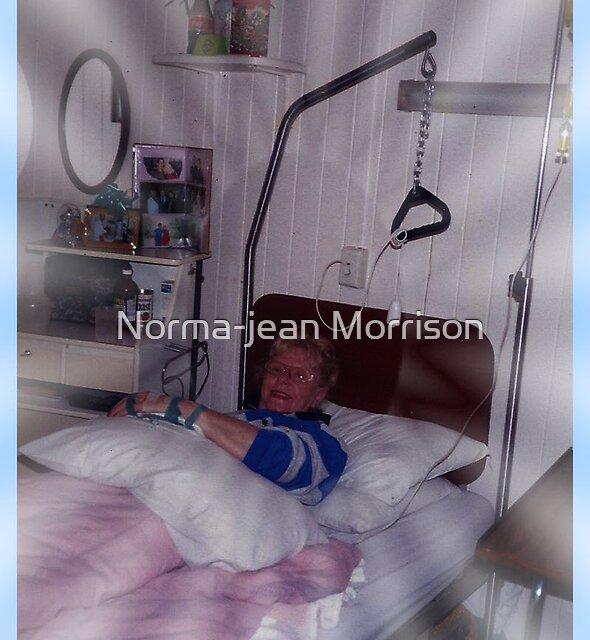 Norma-jean in Hospital by Norma-jean Morrison
