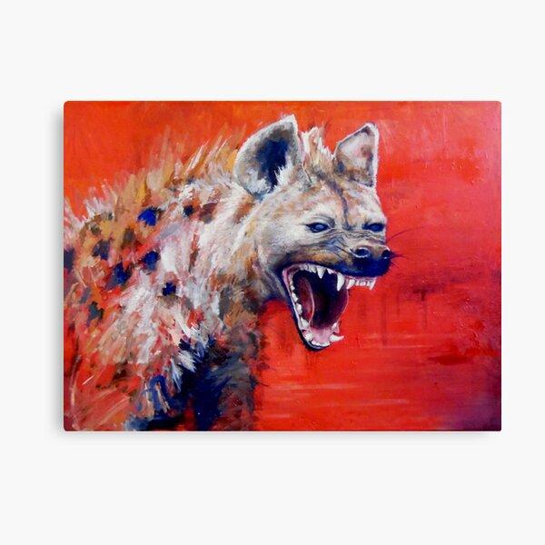 Angry Hyena Canvas Print