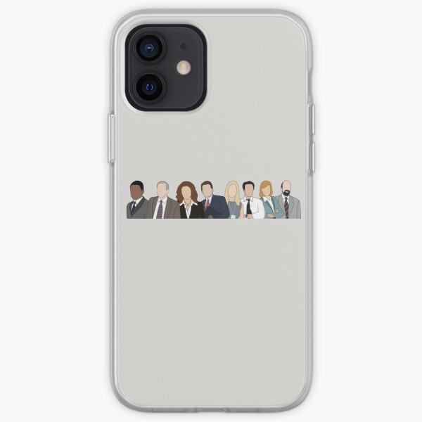 the west wing cast iPhone Soft Case