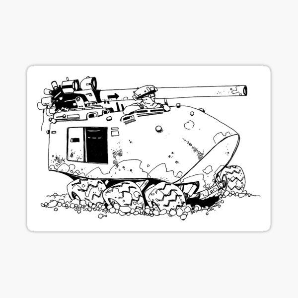 Tank 2 Sticker