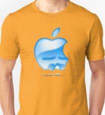 Apple I-Lone Blue Unisex T-Shirt