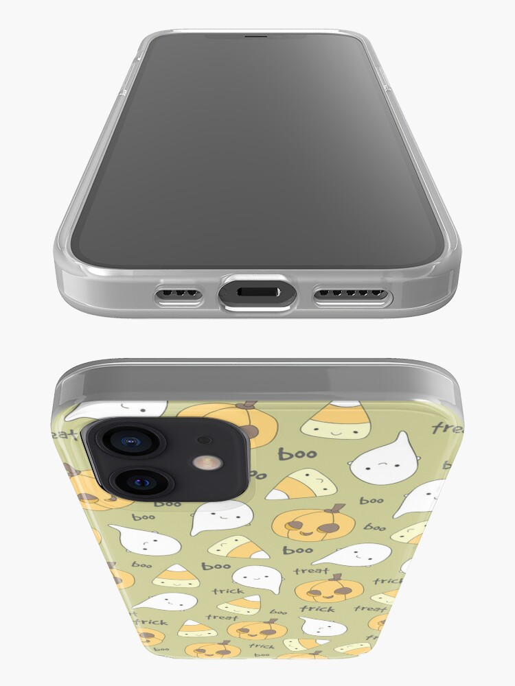 Alternate view of Trick Treat Boo iPhone Case & Cover
