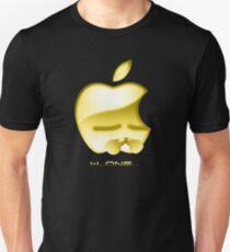 Apple I-Lone Gold Unisex T-Shirt