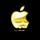 Apple I-Lone Gold by Saing Louis