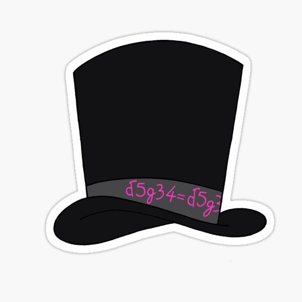 Gentleman Jack Hat Love is Love Sticker