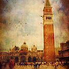 Piazza San Marco, Venice - iPhone case by Silvia Ganora