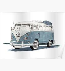 Volkswagen Transport Poster