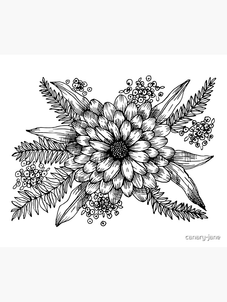 Florals & Ferns by canary-jane