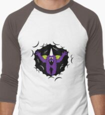 Purple People Eater Men's Baseball ¾ T-Shirt