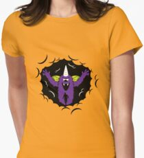 Purple People Eater Women's Fitted T-Shirt