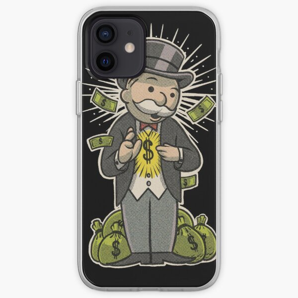 Money is God iPhone Soft Case