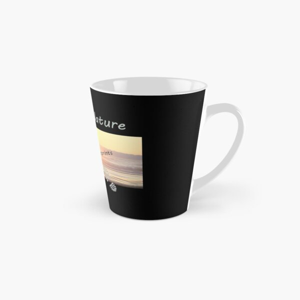 Pristine Nature - Footprints Only Tall Mug