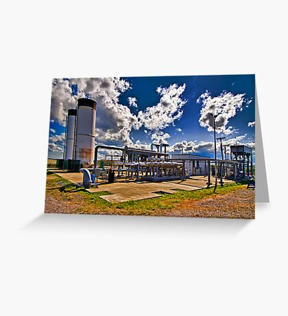 Flare Station Greeting Card