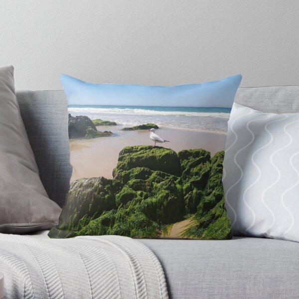Mallacoota Australia Beach 14 Throw Pillow