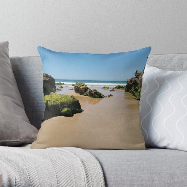 Mallacoota Australia Beach 16 Throw Pillow