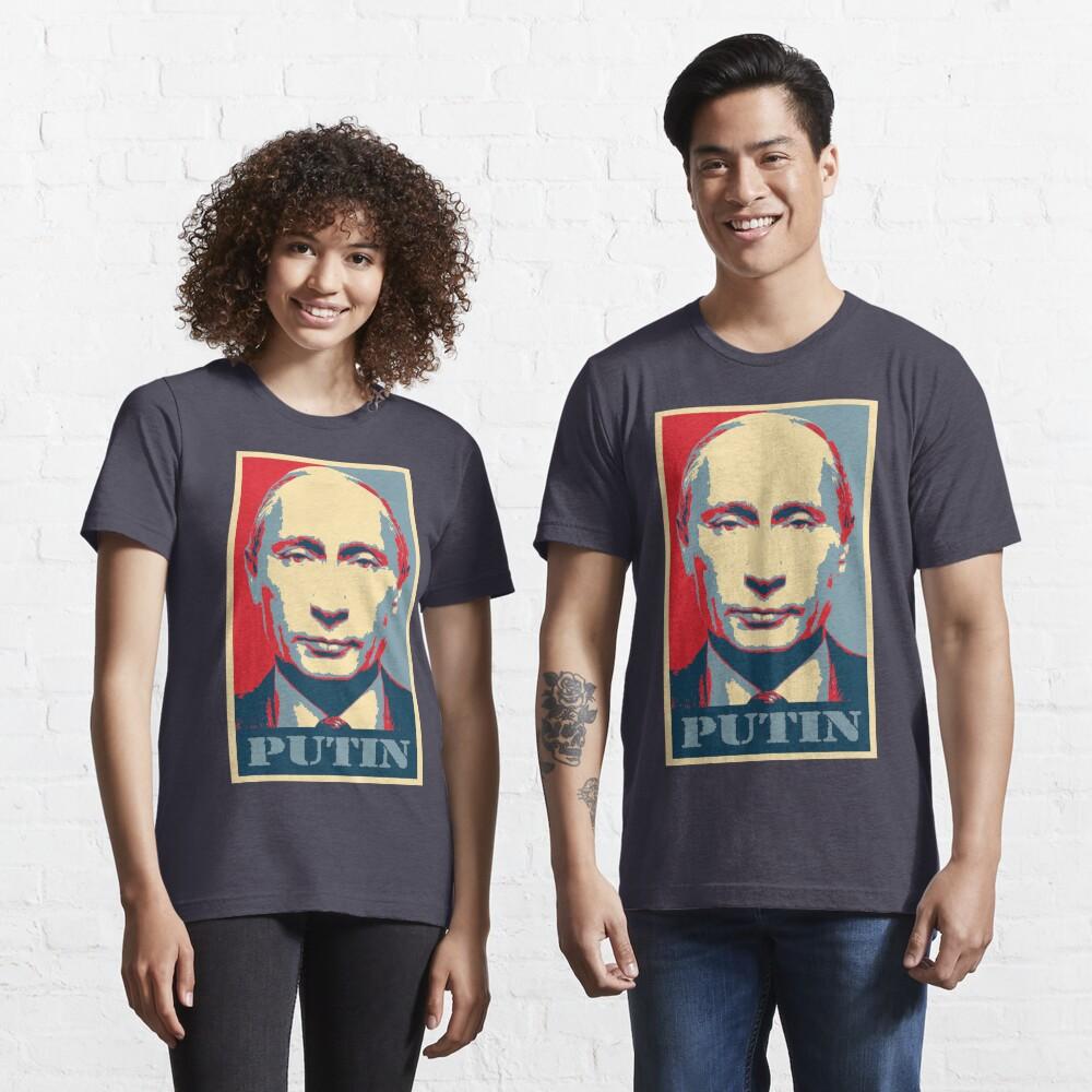 Vladimir Putin, obama poster Essential T-Shirt