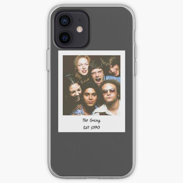 Esa pandilla de los 70 Funda blanda para iPhone