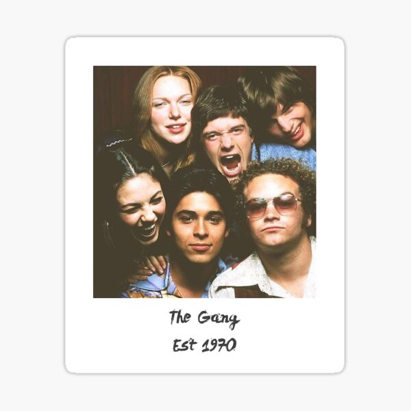 That 70s Show Gang Sticker