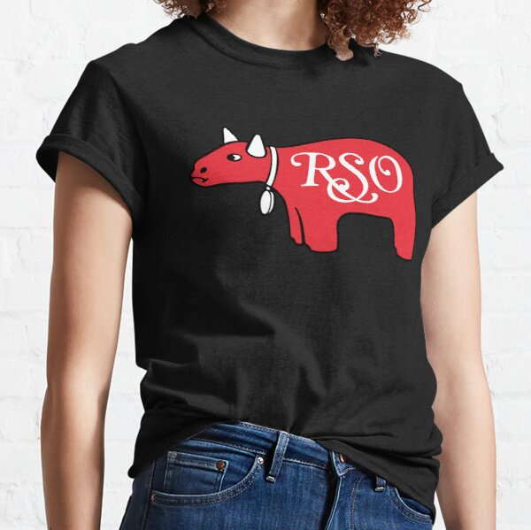 RSO Records Shirt, Sticker, Hoodie, Mask Classic T-Shirt