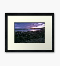 garretstown sunset Framed Print