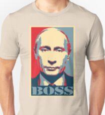 Vladimir Putin, obama poster, boss T-Shirt