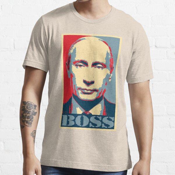 Vladimir Putin, obama poster, boss Essential T-Shirt
