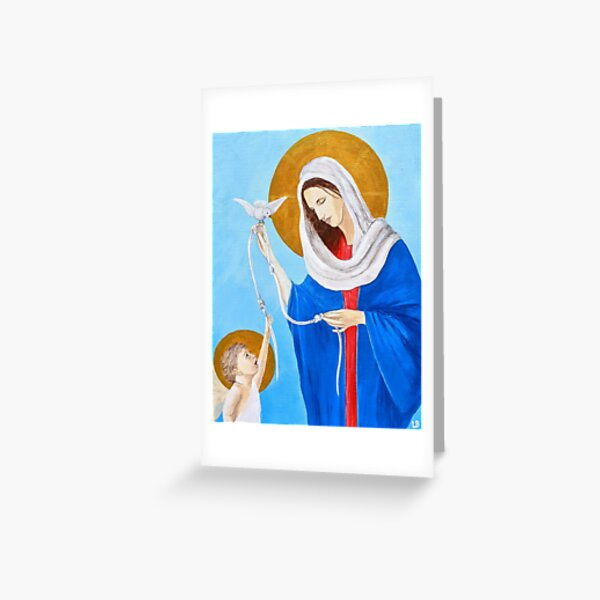 Our Lady, Undoer of Knots Greeting Card