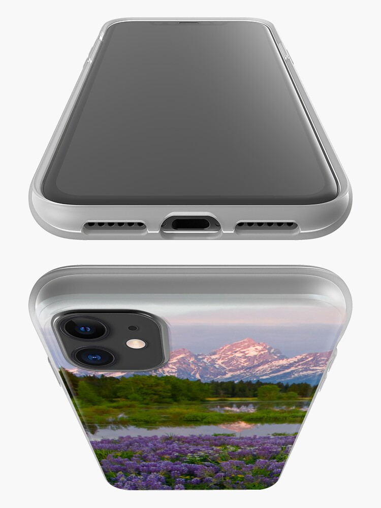 Alternate view of Lupine Explosion in the Tetons (iPhone4 Case) iPhone Case & Cover