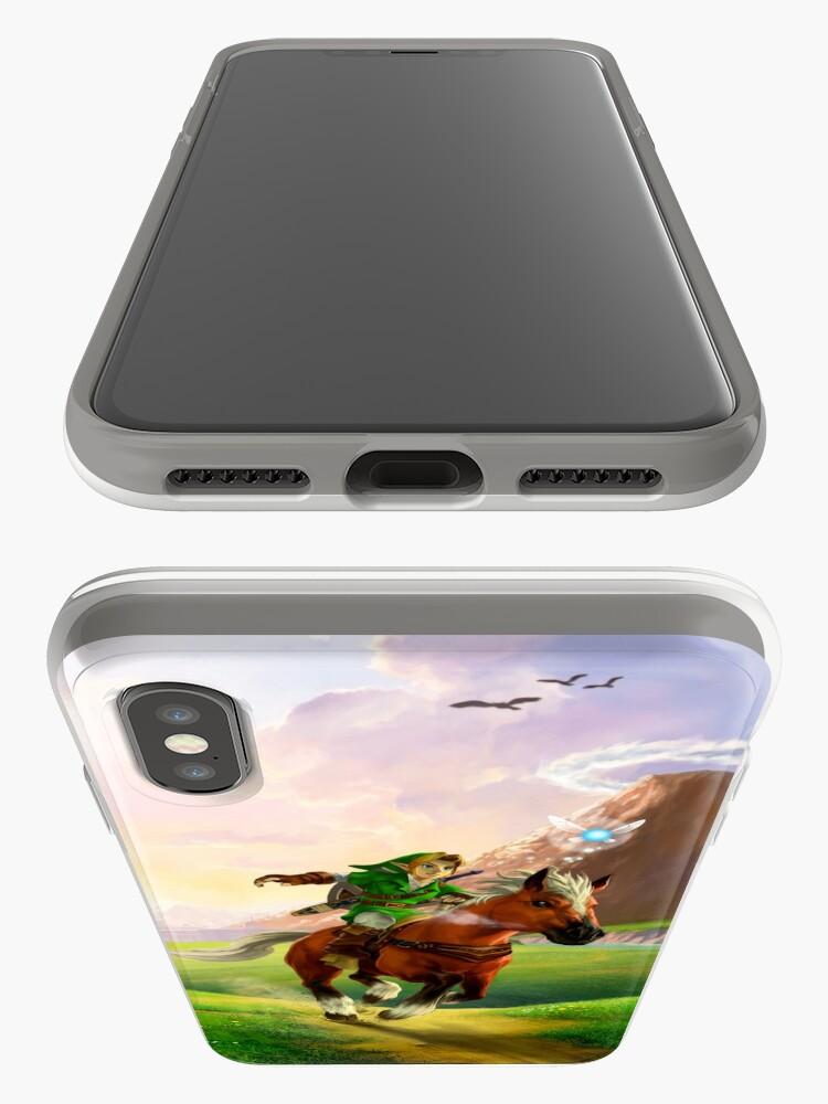 Vista alternativa de Vinilos y fundas para iPhone Zelda!
