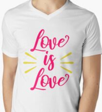 Love is Love V-Neck T-Shirt