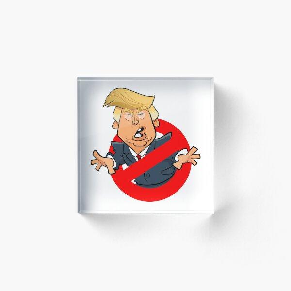 Trump Busters Acrylic Block