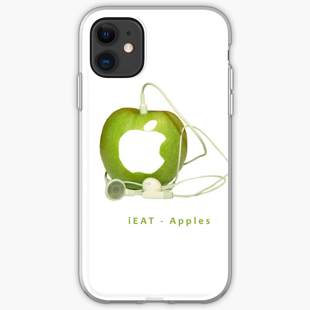 iEat Apples iPhone Soft Case