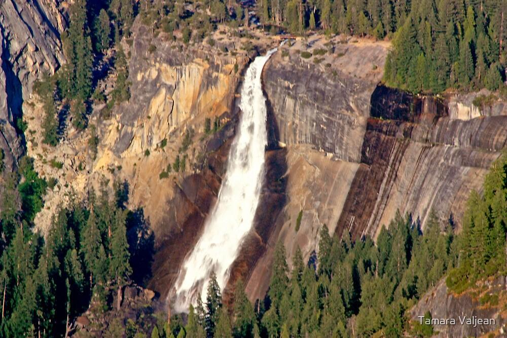 Vernal Falls - Yosemite by Tamara Valjean