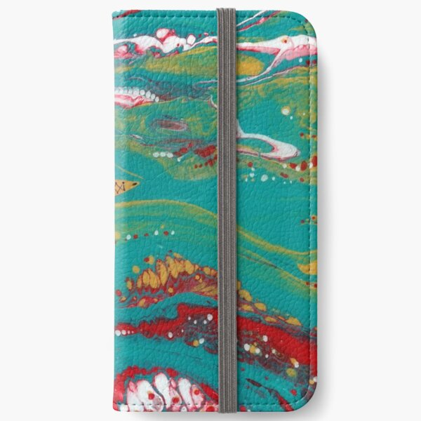 HERE THERE BE SEA MONSTERS iPhone Wallet
