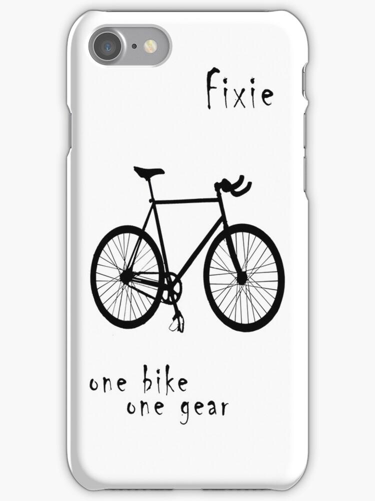 Fixie - one bike one gear by Stefan Trenker