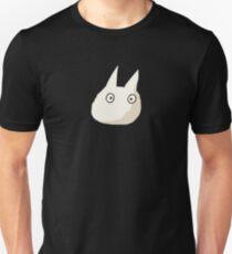 Small White Totoro - No Outline T-Shirt