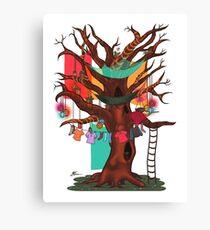 Treehouse Canvas Print