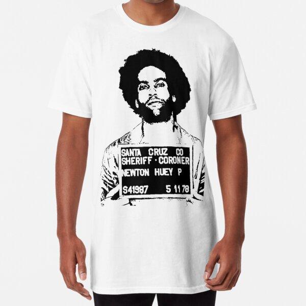 HUEY P. NEWTON-MUGSHOT Long T-Shirt