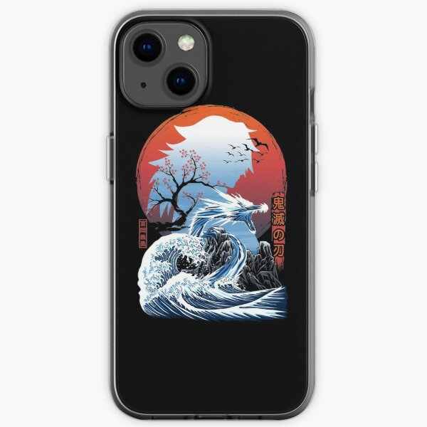 The Great Water Dragon iPhone Soft Case