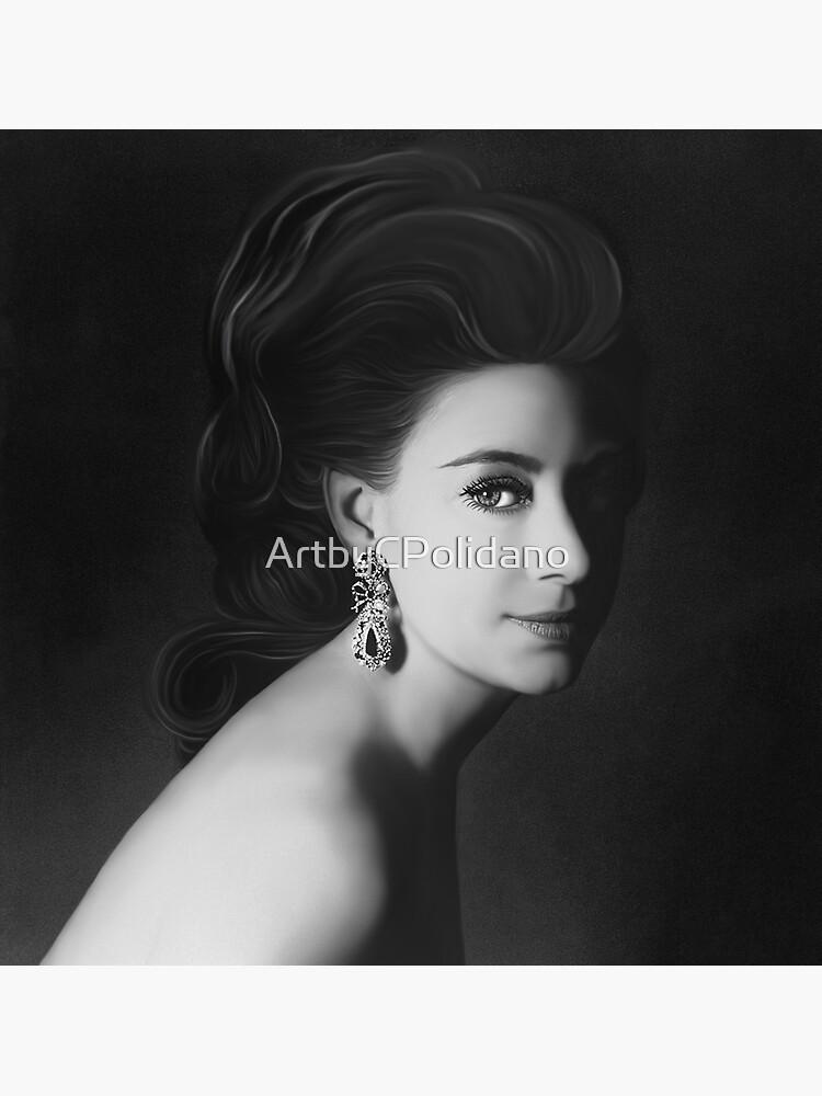 PRINCESS MARGARET  by ArtbyCPolidano