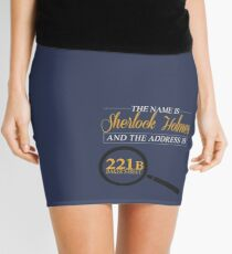 221B Baker Street Mini Skirt