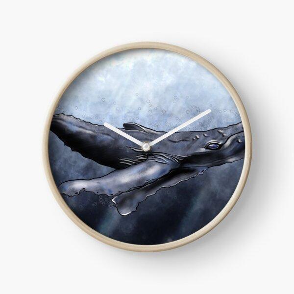 La Baleine à Bosses Horloge