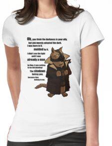 Bane's Cat Rises! Womens Fitted T-Shirt