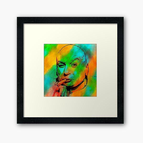 Fricken Evil Framed Art Print