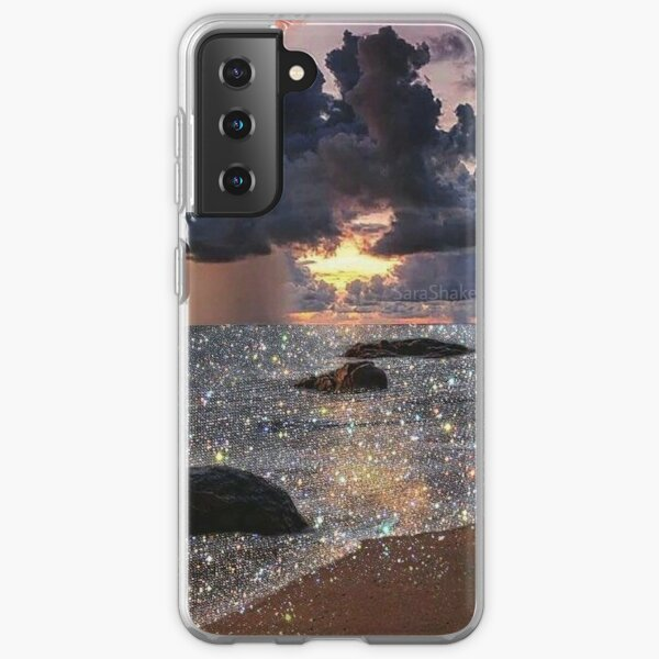 Glitter Beach  Samsung Galaxy Soft Case