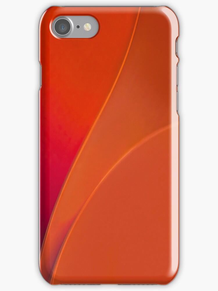 Orange Blush I-Phone Case by Richard G Witham